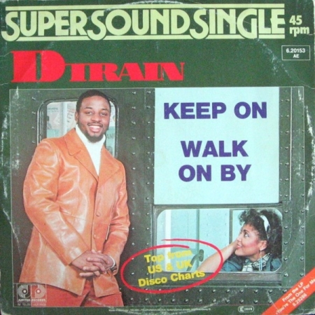 D-Train ‎– Keep On / Walk On By