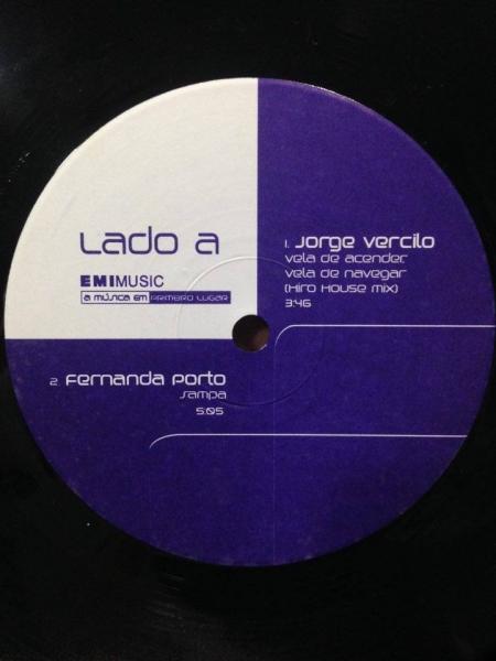 Jorge Vercilo / Fernanda Porto / Vela de Acender Vela de Navergar / Sampa