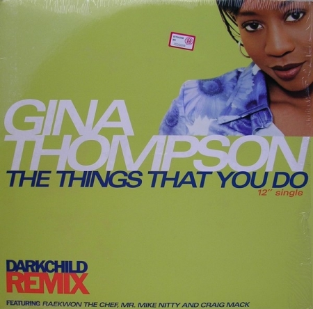 Gina Thompson ‎– The Things That You Do