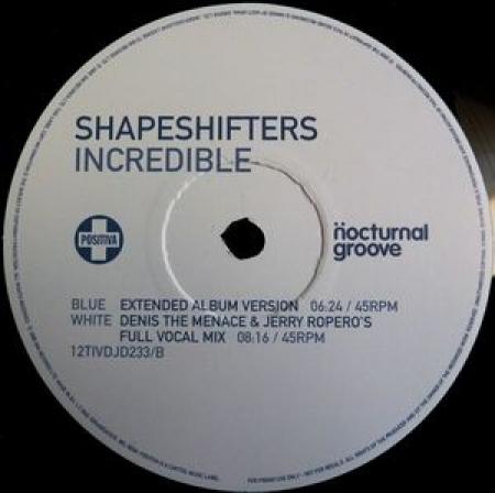 Shapeshifters – Incredible