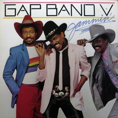 The Gap Band ‎– Gap Band V - Jammin