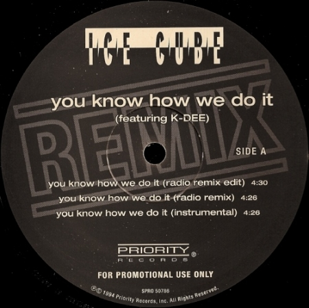 Ice Cube – You Know How We Do It (Remix)