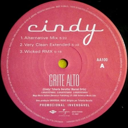 Cindy - Grite Alto