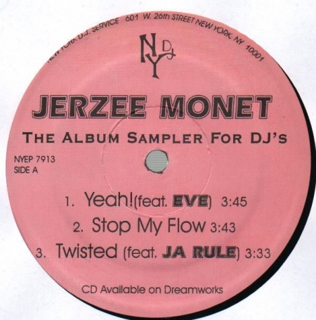 Jerzee Monet - The Album Sampler For Djs