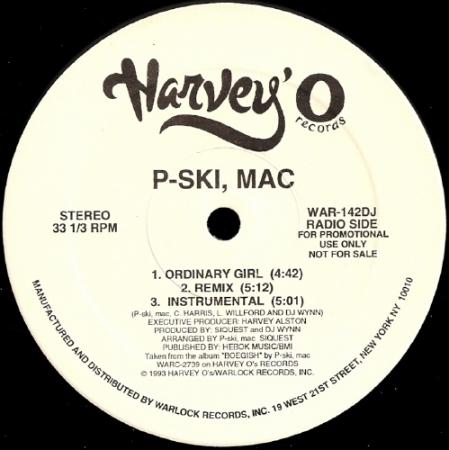 P Ski Mac ?– Ordinary Girl / U A Hoe