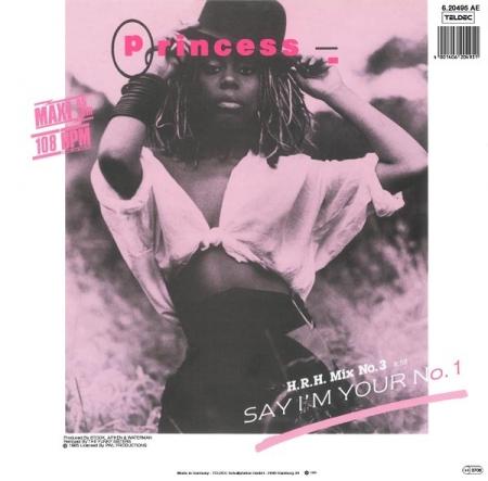 Princess – Say I'm Your No. 1