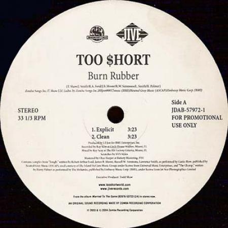 Too Short ?– Burn Rubber