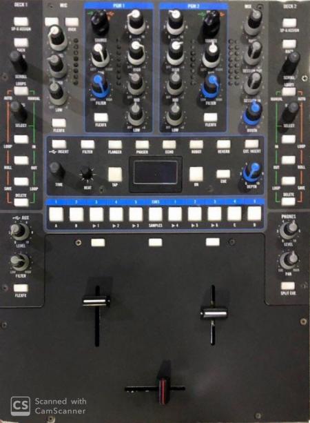 Mixer Rane 62 Sixty Two (C/ Innofader)  SEMI-NOVO