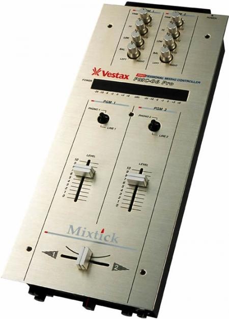 Mixer Vestax PMC 06 prata - Semi Novo