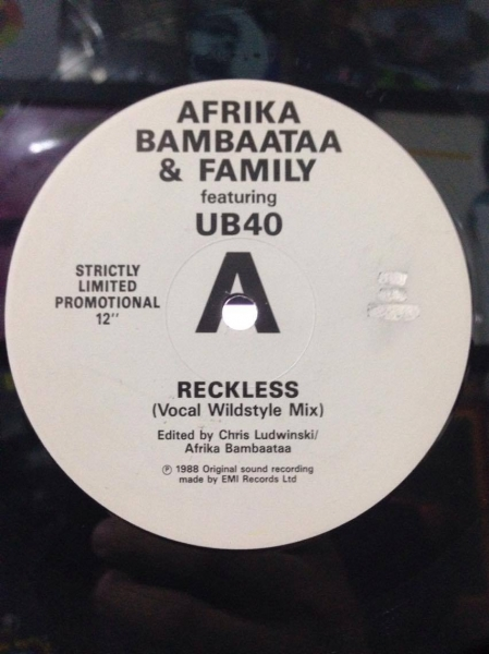 Afrika Bambaata & Family - Reckless (Promo)