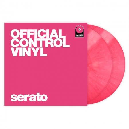 Timecode Serato Control Vinil Performance Pink (O PAR)
