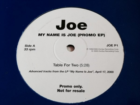 Joe ‎– My Name Is Joe