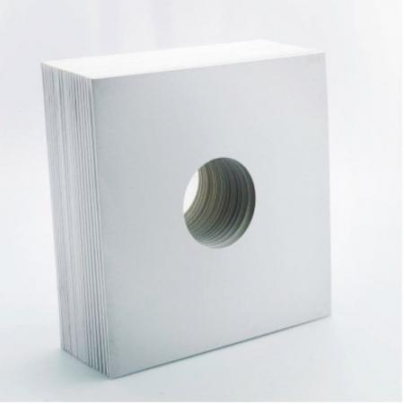 Capas Brancas Para Vinil (10 Peças) OBS: Acima de 50 Pecas = R$ 2.50 a Unidade
