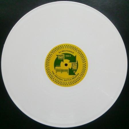 DJ Rectangle – The Original Battle Weapon (DISCO BRANCO RARIDADE)