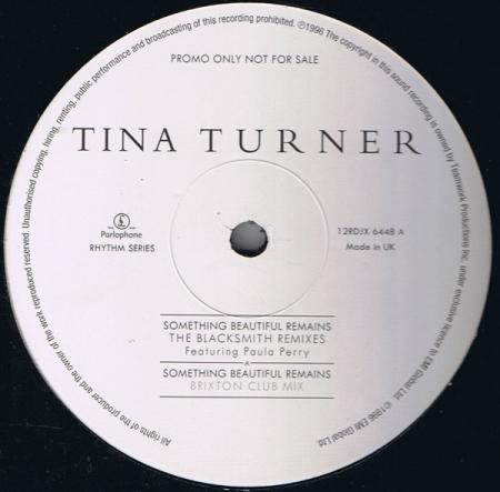 Tina Turner – Something Beautiful Remains (The Blacksmith Remixes)