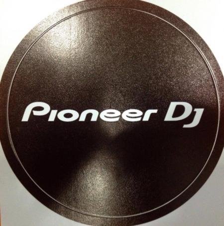 Adesivos Pioneer Para Joggin CDJ Modelo 100 / 200 & 400 da Pioneer  (UNIDADE)