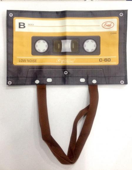 Bolsa Formato de Fita Cassette