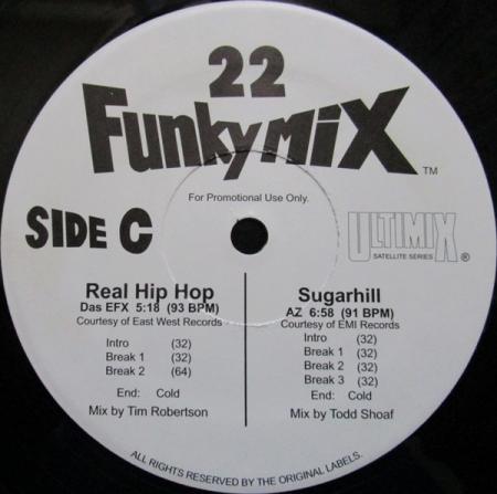Funkymix 22 ( 1 DISCO LADO C e D )