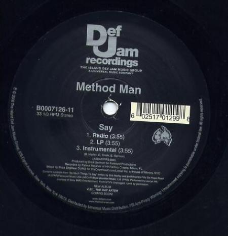 Method Man – Say