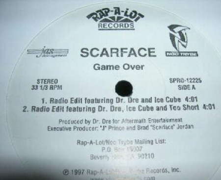 Scarface ‎– Game Over