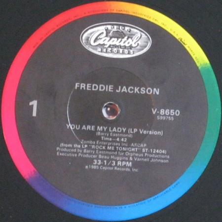 Freddie Jackson ‎– You Are My Lady