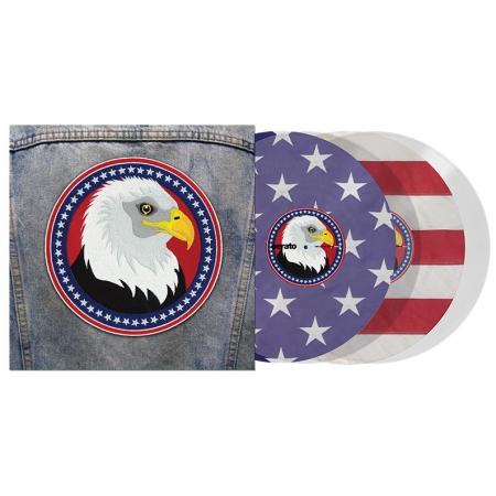 Timecode Serato Control Vinyl USA Edição Limitada (O Par)