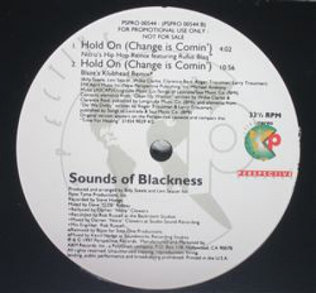 Sounds Of Blackness ‎– Hold On (Change Is Comin')