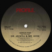 Dr. Jeckyll & Mr. Hyde ‎– Genius Rap