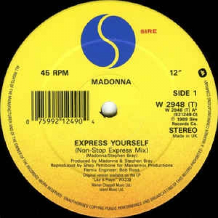 Madonna ?– Express Yourself