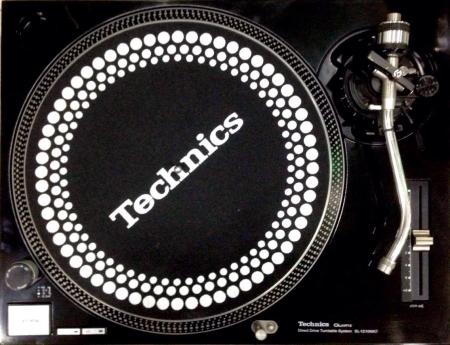 Toca Disco Technics MK2 SL 1210 1 unid
