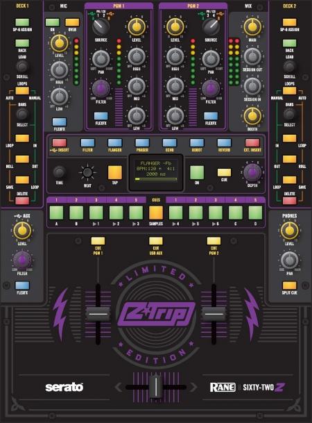 Mixer Rane Sixty-Two 62 Edição Z-Trip (ZERADO)