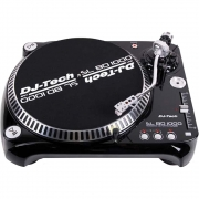 Toca Discos Dj Tech Vinyl USB 10 Belt-Drive USB Turntable