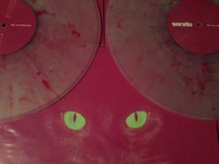 Time Coded Serato Control Vinil Release Marbled Glow In The Dark