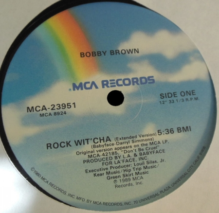 Bobby Brown ‎– Rock Wit'Cha (Extended Version)