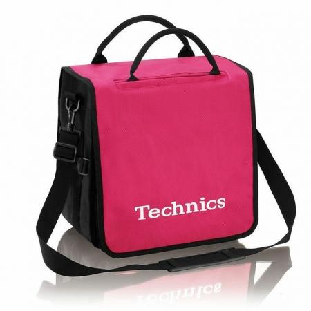 Technics Backpack Record Bag Pink