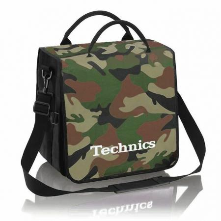 Technics Backpack Record Bag camuflada II