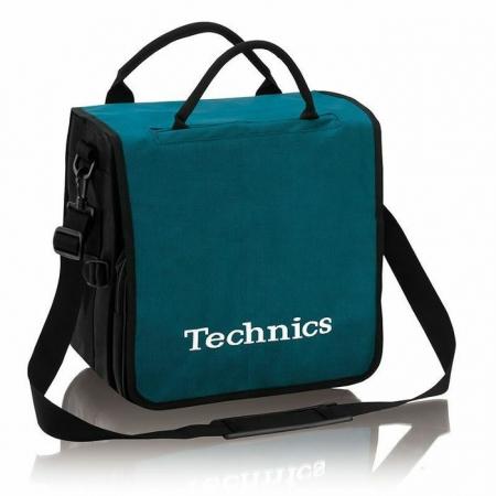 Technics Backpack Record Bag Azul Turquesa