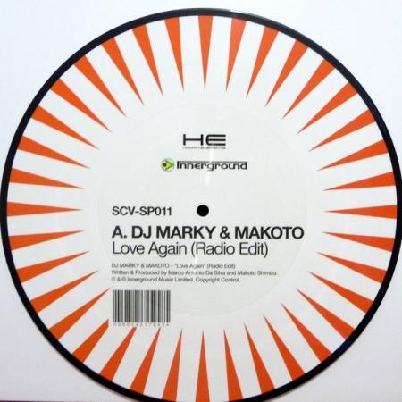 Timecode Serato Control Vinil DJ Marky & Makoto Love Again (O Par)