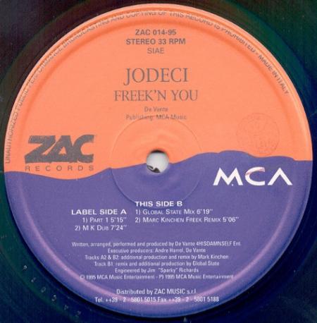 Jodeci – Freek 'n You