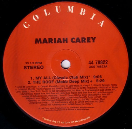 Mariah Carey ?– My All / Breakdown
