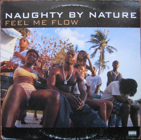 Naughty By Nature ‎– Feel Me Flow / Hang Out And Hustle