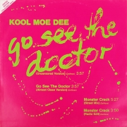 Kool Moe Dee ‎– Go See The Doctor / Monster Crack (VINIL VERDE)
