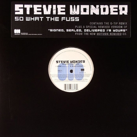 Stevie Wonder – So What The Fuss (Funky MIx)