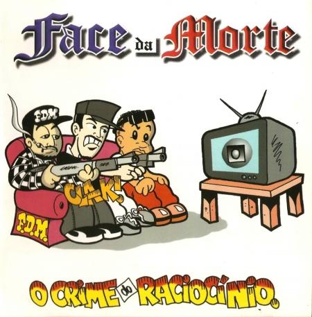 Face da Morte – O Crime do Raciocínio ( com uma pequena marcação no rotulo )