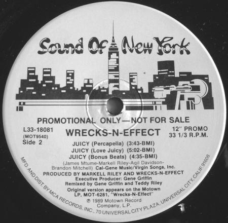 Wrecks N Effect – Juicy