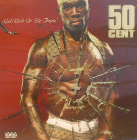 50 Cent ‎– Get Rich Or Die Tryin (Capa 3D) LACRADO