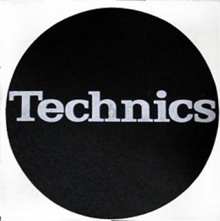 Feltro Technics Black White Espessura Fina UNIDADE