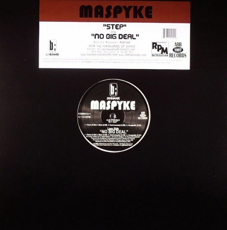Maspyke ‎– Step / No Big Deal