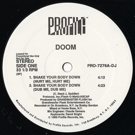 Doom ‎– Shake Your Body Down