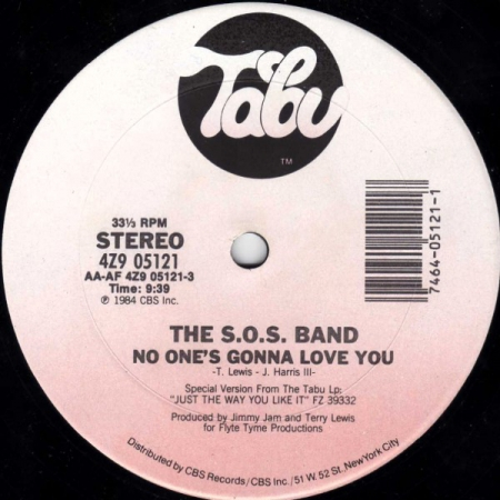 The S.O.S. Band – No One's Gonna Love You